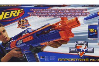 Nerf Strike Elite Rapidstrike CS-18 Verpackung Frontalansicht