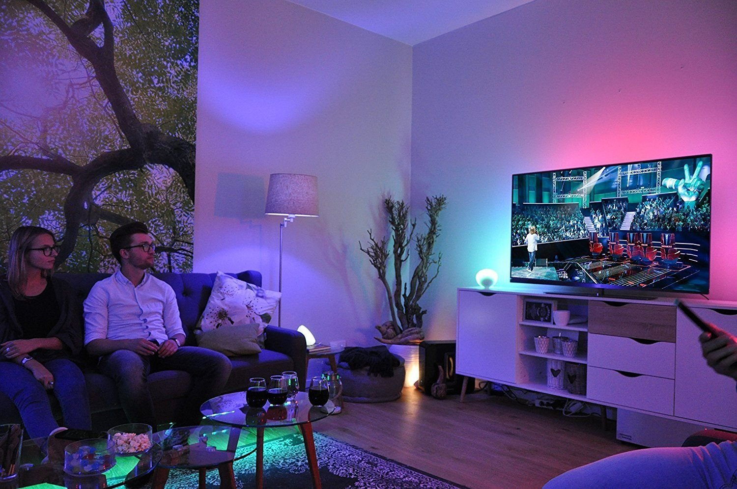 Philips HUE Esszimmer Beleuchtung